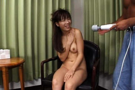Ami Nishimura Asian all nude smiles as gets vibe on twat. Teen porn gallery. Young porn newbie Ami Nishimura