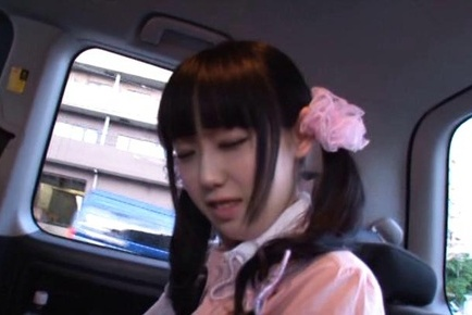Machiko ono. Machiko Ono Asian undresses and gets dildo to use in the car