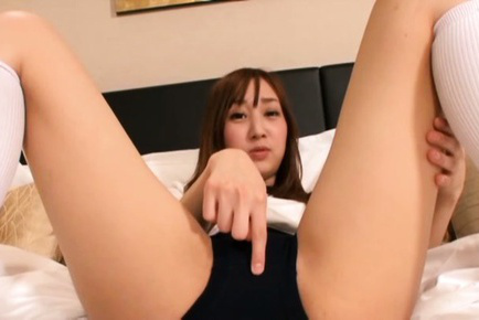 Arisa otomiya. Arisa Otomiya Asian shows hot bum while rubbing