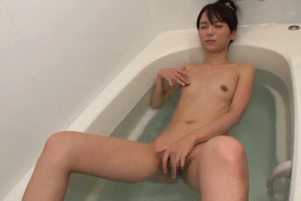 Asuka hoshino. Asuka Hoshino Asian fondles bee stings and fish
