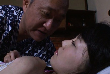 Marin aono. Marin Aono Asian has man tongue stuck in her mouth