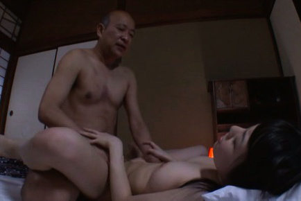Marin aono. Marin Aono Asian with juicy tits licks man tongue in