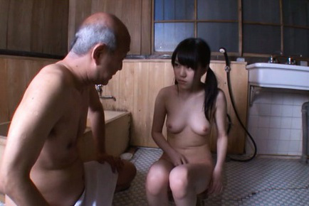 Marin aono. Marin Aono Asian with playful cans has vagina rubbed at bath