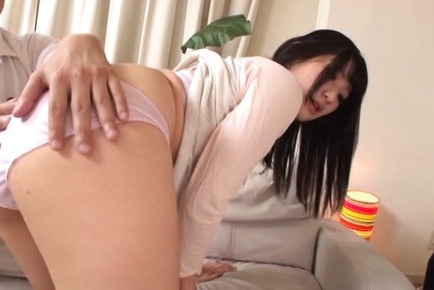 Amateur. Amateur Asian doll has hot bum touched and