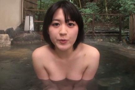 Erina nagasawa. Erina Nagasawa Asian tries to hide her tits