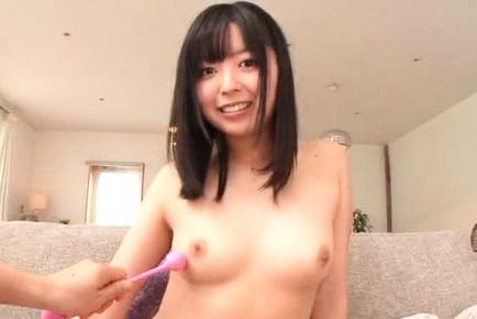 Mako Mizuhara Asian has hooters touched with vibe and exhibits vulva. Teen porn gallery. Young porn newbie Mako Mizuhara